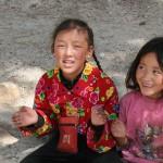 Kinder in Lhasa